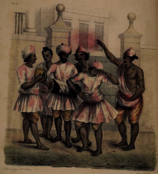 Twenty Four Plates Illustrative of Bengal - The Hoolly Festival (1832)