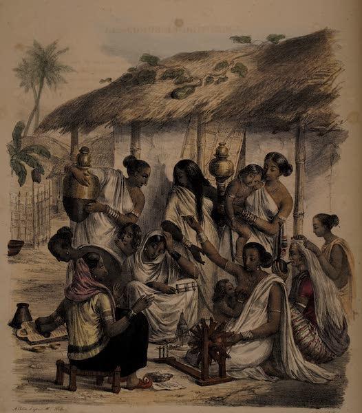 Twenty Four Plates Illustrative of Bengal - The Village Gossips (1832)