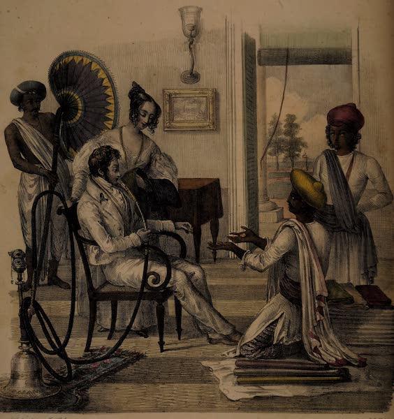 Twenty Four Plates Illustrative of Bengal - Silk and Cloth merchant (1832)