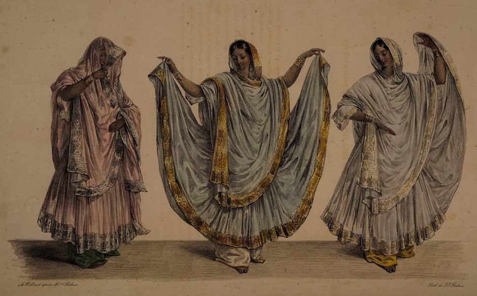 Twenty Four Plates Illustrative of Bengal - Three dancing Girls of Hindoostan (1832)
