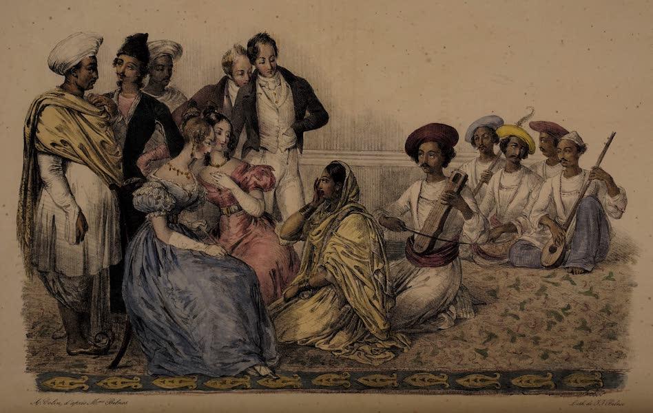 Twenty Four Plates Illustrative of Bengal - A Nautch [II] (1832)