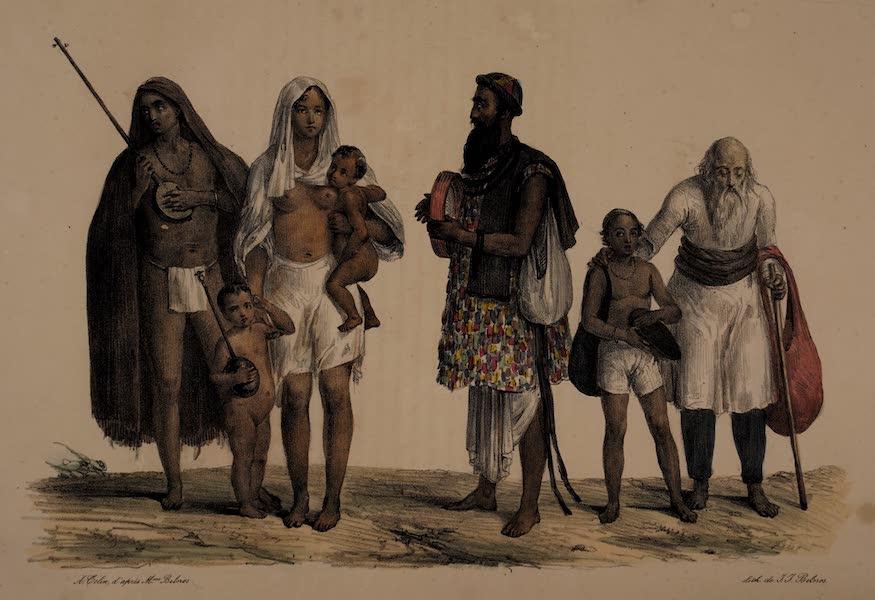 Twenty Four Plates Illustrative of Bengal - Jogees / Voiragee / Mendiant Musulman / Mussulman Beggar (1832)