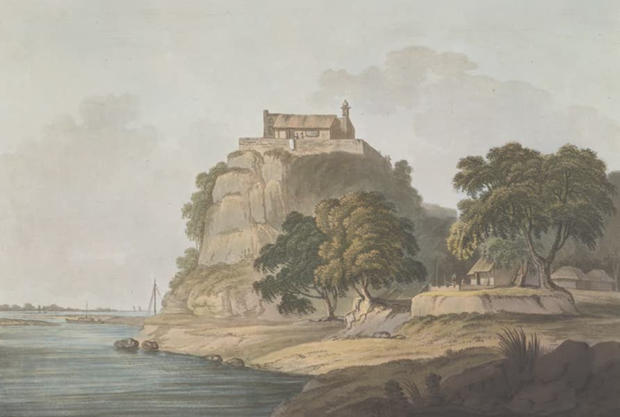 24 Views in Indostan by William Orme - Dalmow, on the Ganges (1802)