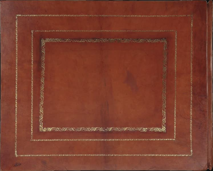 24 Views in Indostan by William Orme - Back Cover (1802)