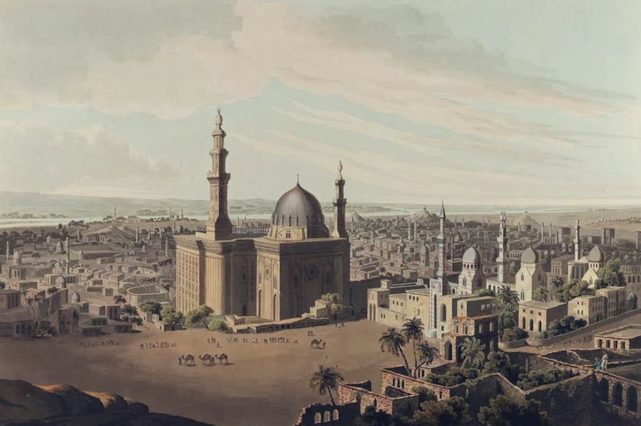 Twenty-Four Views Taken in St. Helena, the Cape, India, Ceylon, Abyssinia, and Egypt - View of Grand Cairo (1809)