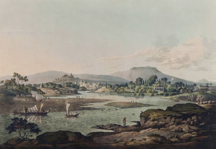 Twenty-Four Views Taken in St. Helena, the Cape, India, Ceylon, Abyssinia, and Egypt - Poonah (1809)