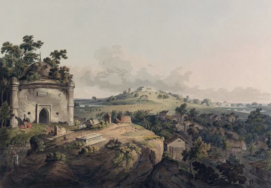 Twenty-Four Views Taken in St. Helena, the Cape, India, Ceylon, Abyssinia, and Egypt - A view within the Fort of Monghyr (1809)