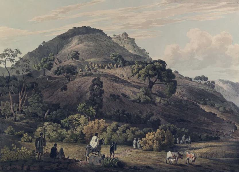 Twenty-Four Views Taken in St. Helena, the Cape, India, Ceylon, Abyssinia, and Egypt - Mucculla in Abyssinia (1809)