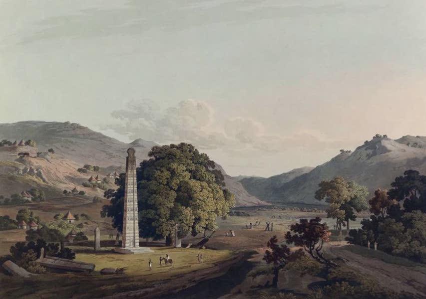 Twenty-Four Views Taken in St. Helena, the Cape, India, Ceylon, Abyssinia, and Egypt - The Obelisk at Axum (1809)