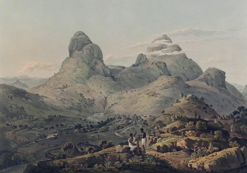 Twenty-Four Views Taken in St. Helena, the Cape, India, Ceylon, Abyssinia, and Egypt - The Mountains of Samayut (1809)
