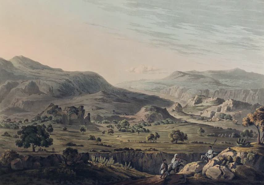 Twenty-Four Views Taken in St. Helena, the Cape, India, Ceylon, Abyssinia, and Egypt - The Pass of Atbara in Abyssinia (1809)