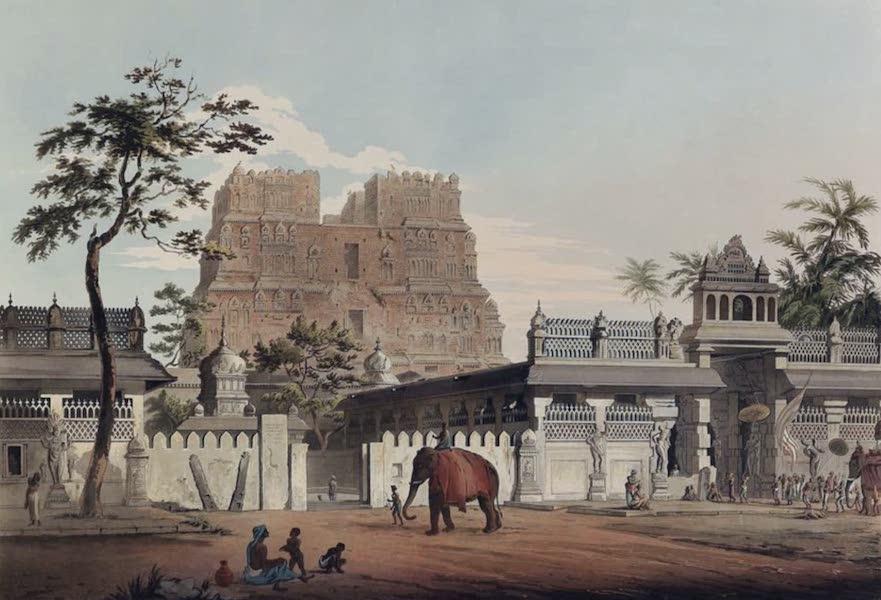 Twenty-Four Views Taken in St. Helena, the Cape, India, Ceylon, Abyssinia, and Egypt - Pagoda at Ramisseram (1809)