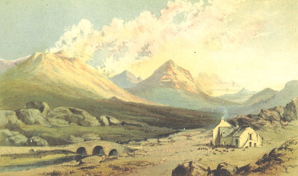 Two Months in the Highlands, Orcadia, and Skye - Glen Sligachan (1860)