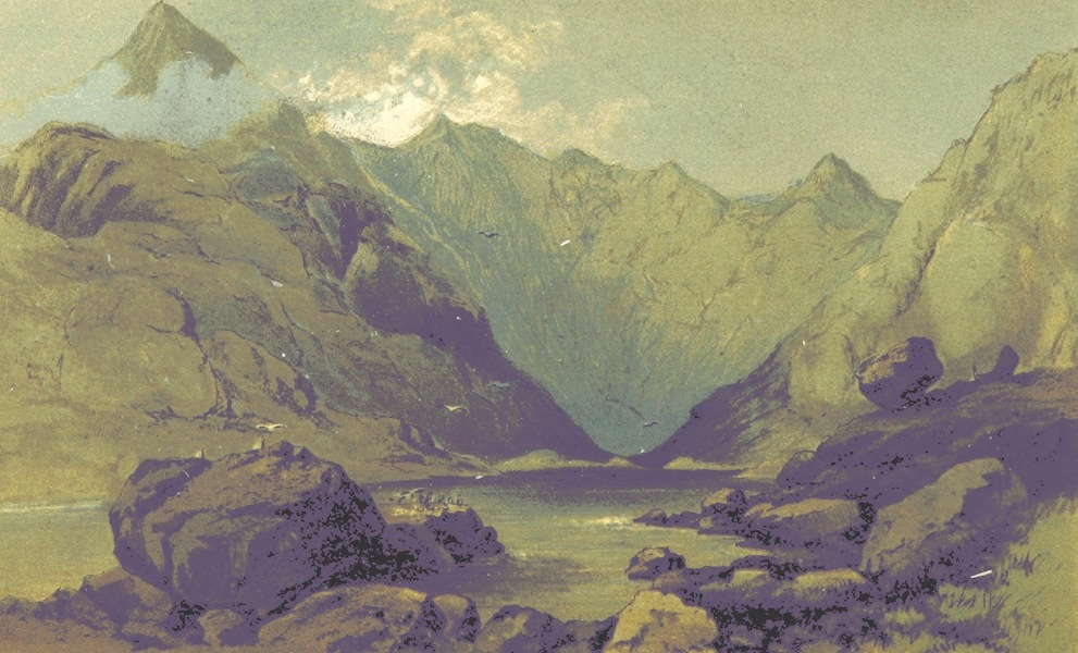 Two Months in the Highlands, Orcadia, and Skye - Loch Coruisk [II] (1860)