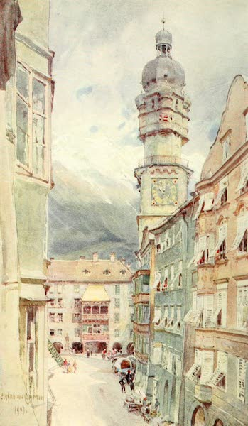 Tyrol, Painted and Described - Innsbruck (1908)