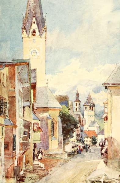 Tyrol, Painted and Described - Kitzbuhel (1908)