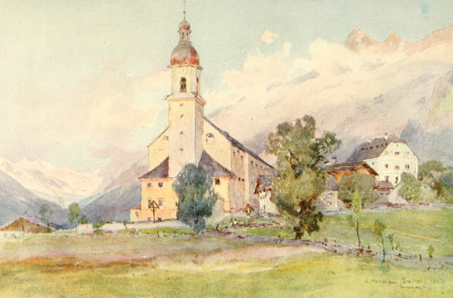 Tyrol, Painted and Described - Neustift (Stubaithal) (1908)