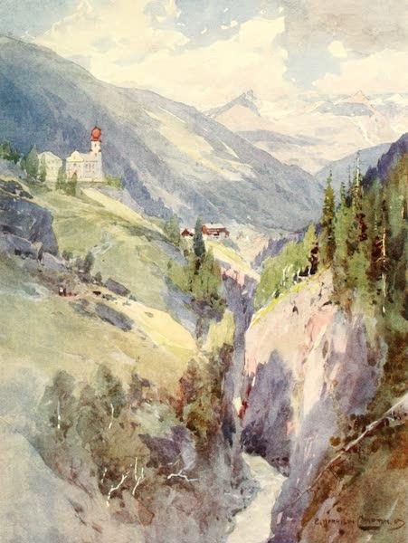 Tyrol, Painted and Described - Heilig Kreuz (Oetzthal) (1908)