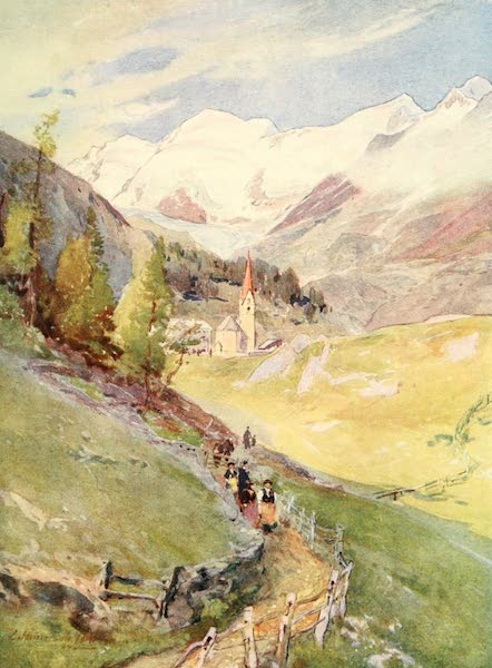 Tyrol, Painted and Described - Gurgl (Oetzthal) (1908)