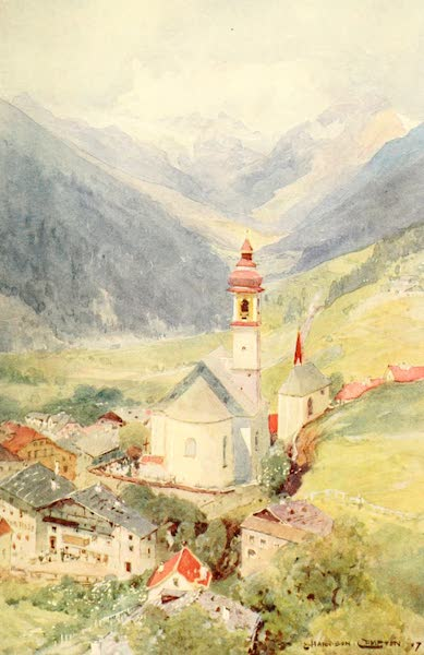 Tyrol, Painted and Described - Gossensass (1908)