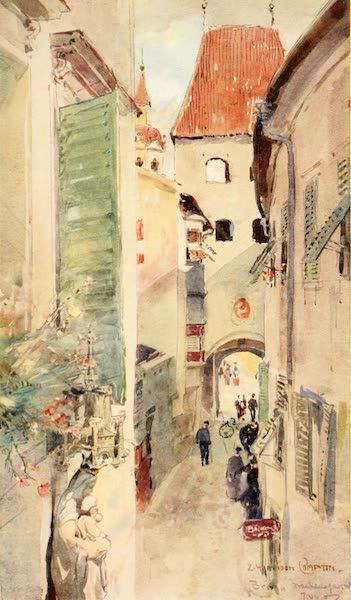 Tyrol, Painted and Described - Brixen (1908)