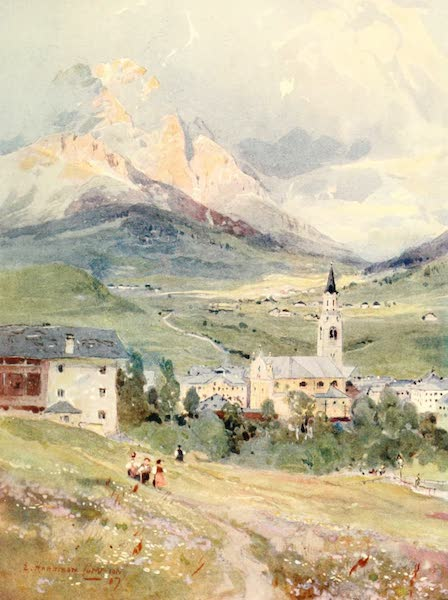 Tyrol, Painted and Described - Cortina and Monte Cristallo (1908)