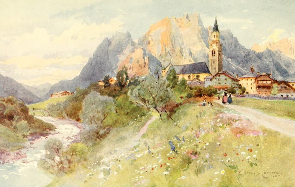 Tyrol, Painted and Described - Cortina D'ampezzo (1908)