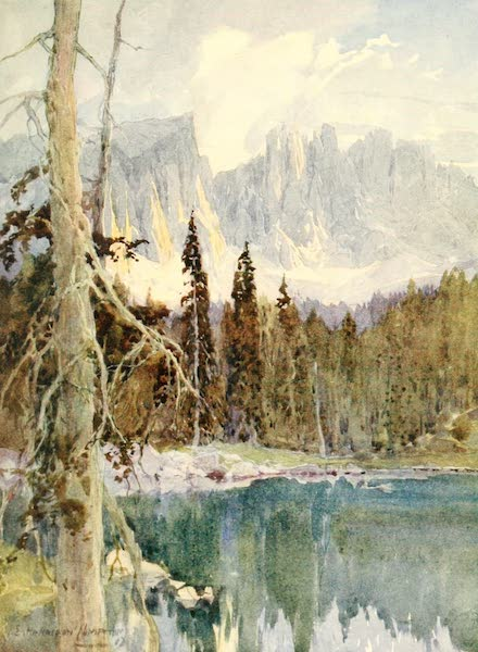 Tyrol, Painted and Described - Karersee (1908)