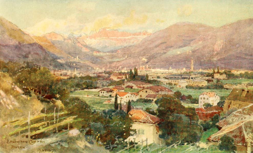 Tyrol, Painted and Described - Bozen (1908)