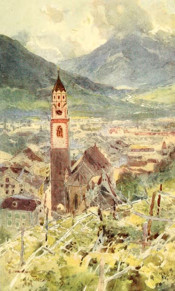 Tyrol, Painted and Described - Meran (1908)