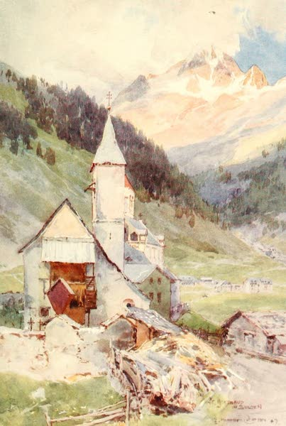 Tyrol, Painted and Described - St. Gertraud (Suldenthal) (1908)
