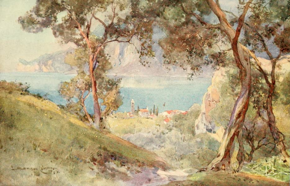 Tyrol, Painted and Described - Lago Di Garda and Torbole (1908)