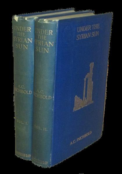 Under the Syrian Sun Vol. 1 - Book Display (1907)