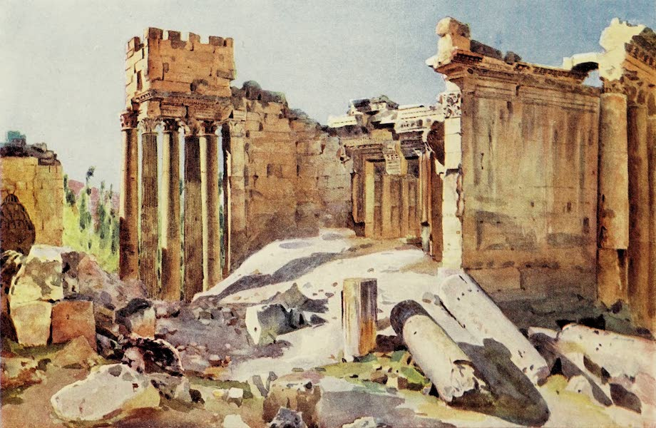 Under the Syrian Sun Vol. 1 - Great Portal of the Temple of Jupiter (1907)