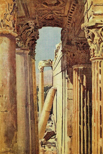 Under the Syrian Sun Vol. 1 - South Peristyle of the Temple of Jupiter (1907)