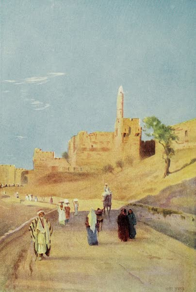 Under the Syrian Sun Vol. 2 - The Tower of David, Mount Zion (1907)
