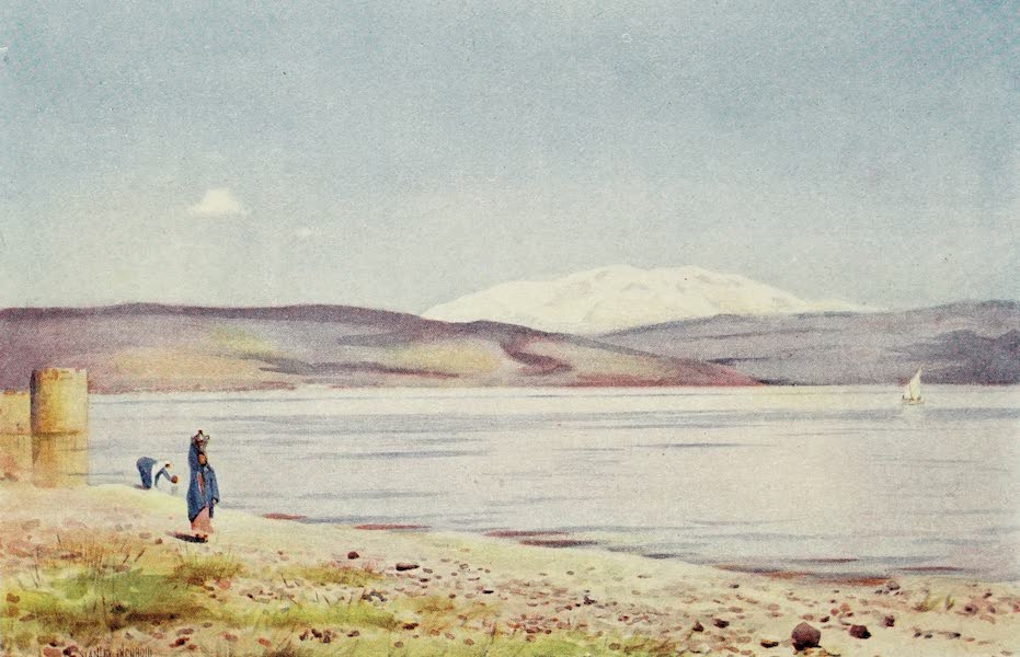 Under the Syrian Sun Vol. 2 - Sea of Galilee and Mount Hermon (1907)