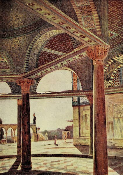 Under the Syrian Sun Vol. 2 - The Dome of the Chain, Temple Area (1907)