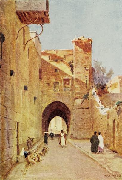 Under the Syrian Sun Vol. 2 - Tower of Antonia, Via Dolorosa (1907)