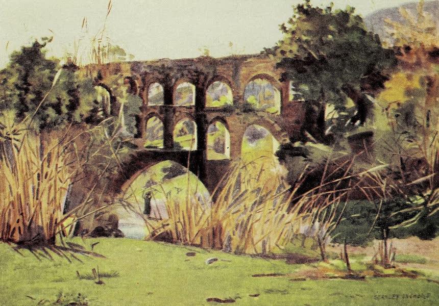 Under the Syrian Sun Vol. 2 - Roman Aqueduct, Ain Duk, near Jericho (1907)