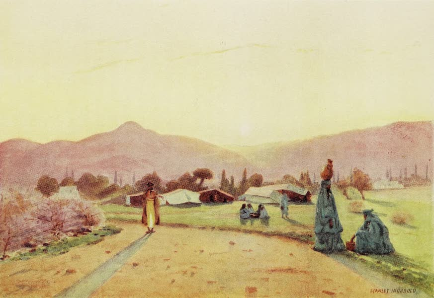 Under the Syrian Sun Vol. 2 - The Hills of Judaea from Jericho - Sunset (1907)