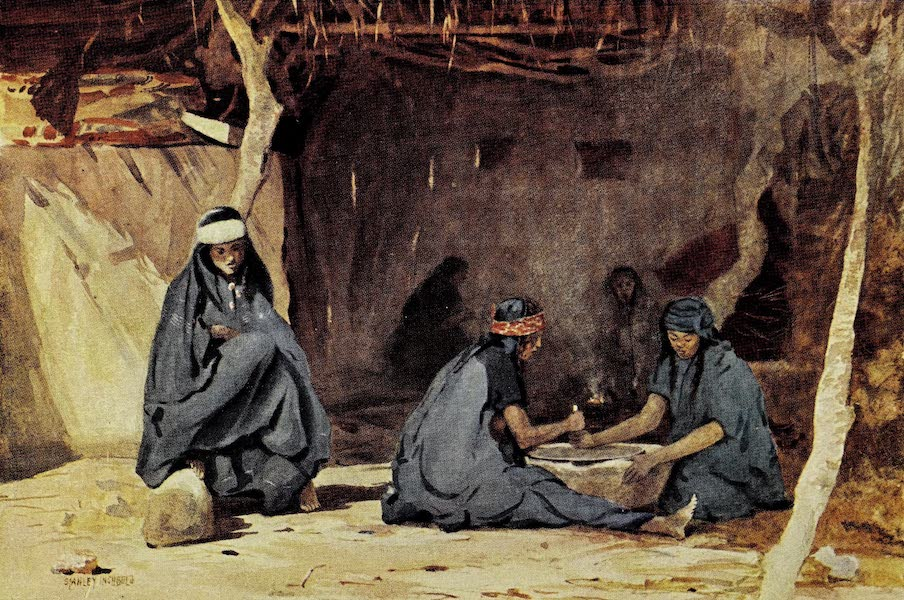 Under the Syrian Sun Vol. 2 - Jericho Women at Home (1907)