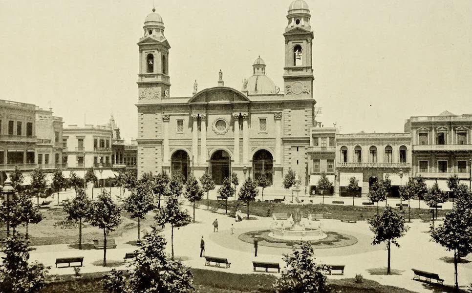 Uruguay by W. H. Koebel - Cathedral : Montevideo (1911)