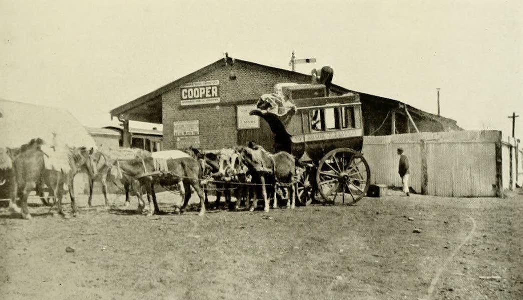 Uruguay by W. H. Koebel - Country Coach at La Sierra Station (1911)
