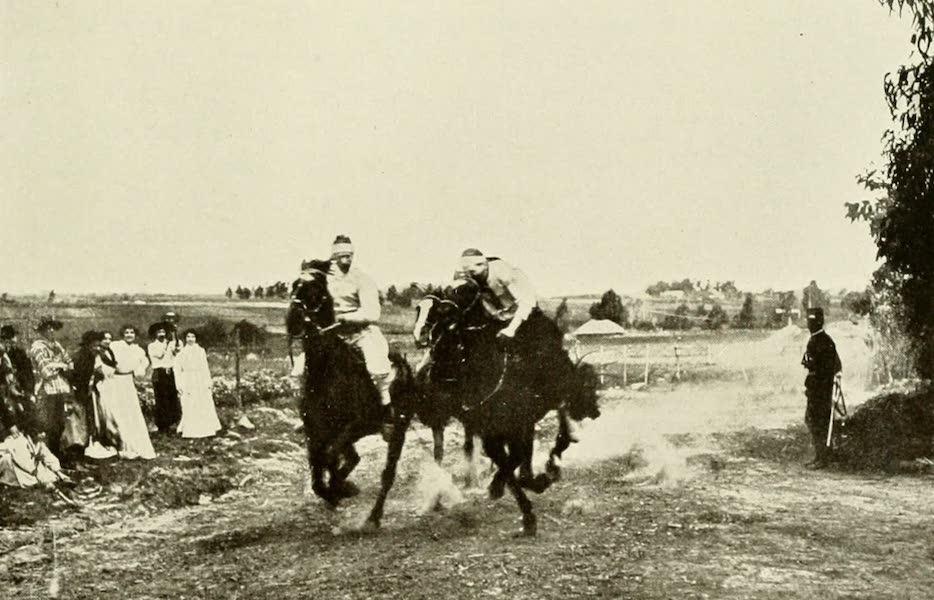 Uruguay by W. H. Koebel - A Gaucho Race : The Finish (1911)
