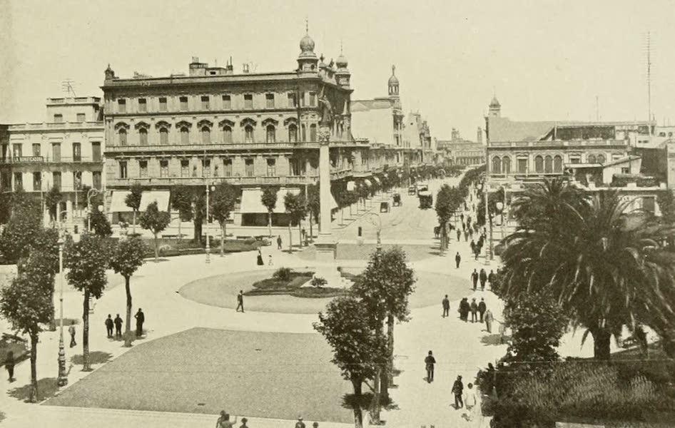 Uruguay by W. H. Koebel - The Principal Plaza : Montevideo (1911)