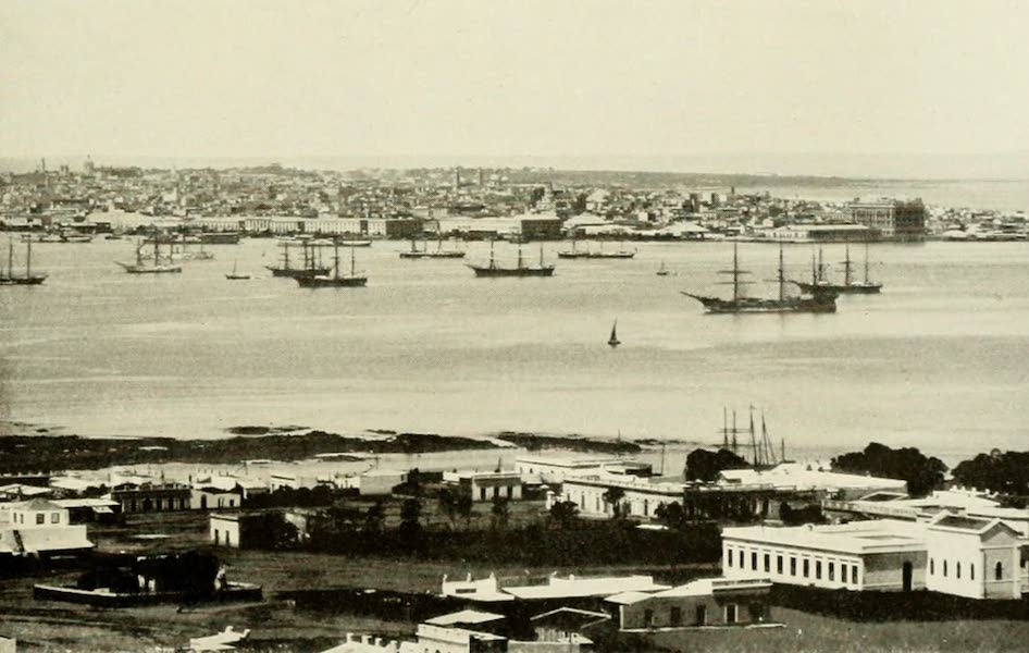 Uruguay by W. H. Koebel - The Harbour : Montevideo (1911)