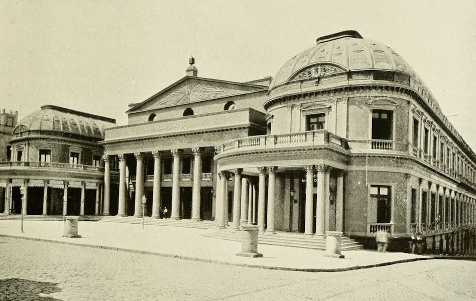 Uruguay by W. H. Koebel - Solis Theatre And National Museum (1911)
