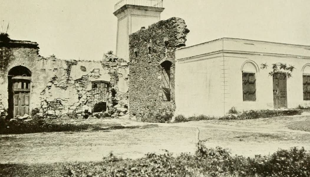 Uruguay by W. H. Koebel - Colonia : Ruined Fortress Wall (1911)