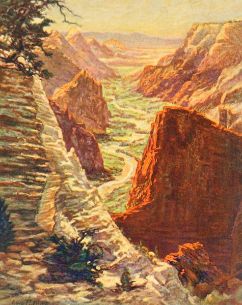 Utah, the Land of Blossoming Valleys - Zion Canyon (1922)
